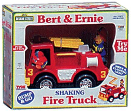 Sesame Street fire truck  Click To Enlarge Image