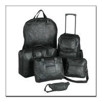 Genuine Leather Luggage Set  Click To Enlarge Image